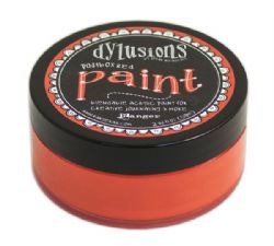 Ranger Dylusions Acrylic Paint - Postbox Red